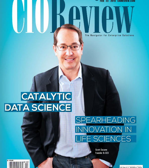 Spearheading Innovation in Life Sciences Featured By CIO Review Magazine