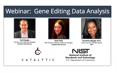 WEBINAR: Gene Editing Data Analysis – Overcome challenges in executing, evaluating, and reporting complex genome editing data